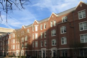 GWU - Greek Townhouse Row